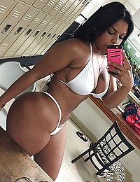 thick ass ebony ass fucked Kraystal