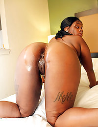 black ebony female wife watches black husband fuck black tranny
