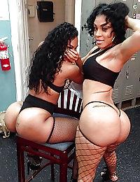 ebony lesbians ass licking